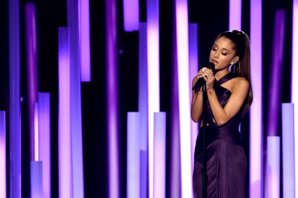 Ariana-Grande-performs-onstage-during-The-57th-Annual-GRAMMY-Awards-at-the-STAPL