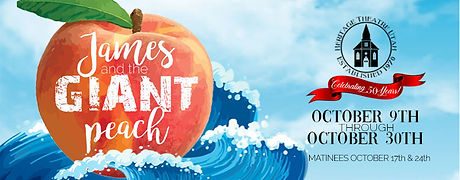 James and the Giant Peach Facebook Cover