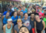 Run Club + National Selfie Day = you can