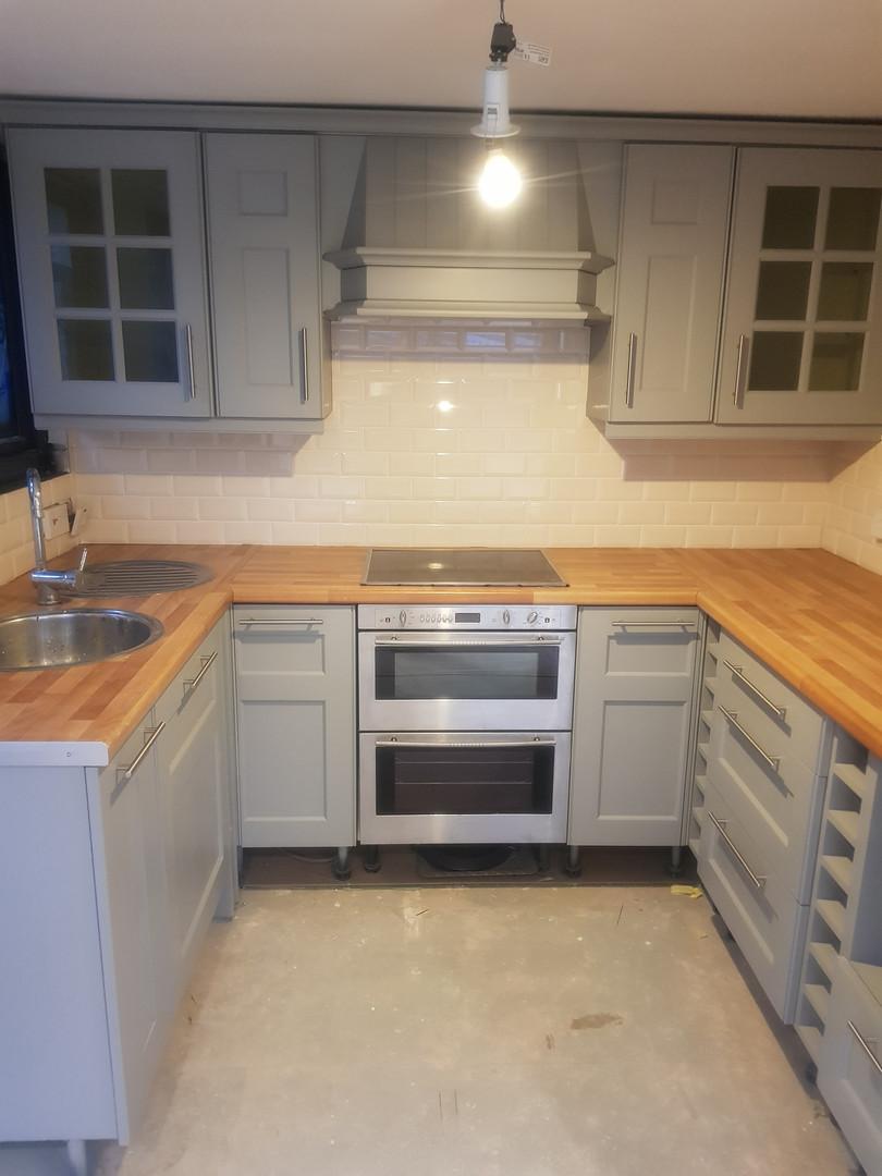 Kitchen: After Re-spray