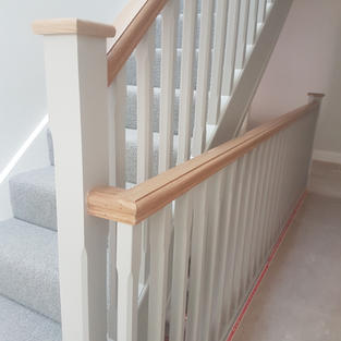 Resprayed Bannisters