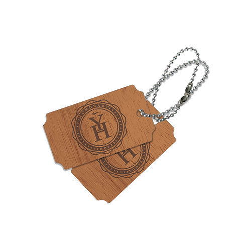 Honorary Yooper Wood Tag