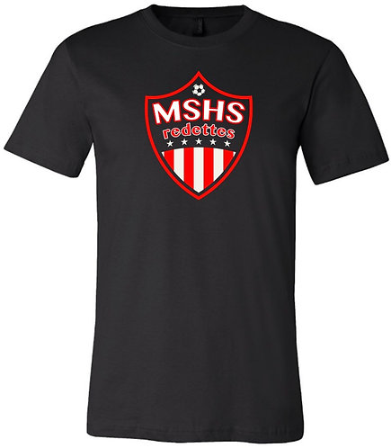 Redettes Soccer Shield Tee