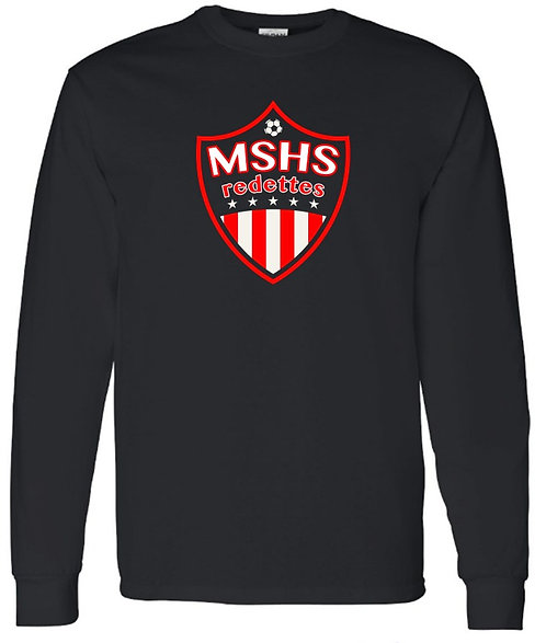 Redettes Soccer Shield Long Sleeve