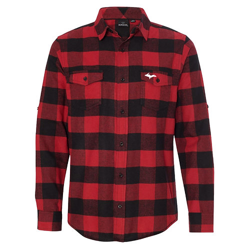 U.P. Embroidered Flannel
