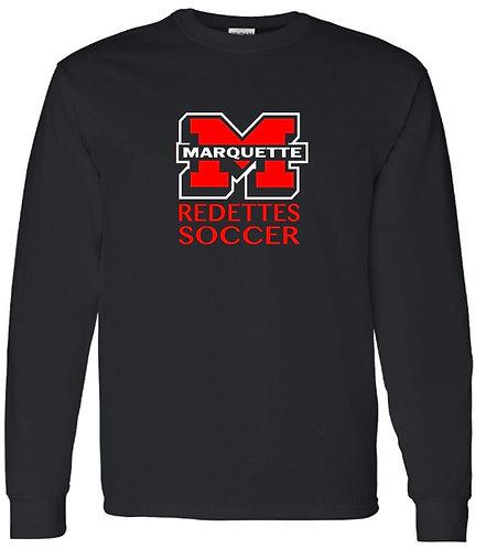 Redettes Soccer Block M Crewneck Sweatshirt