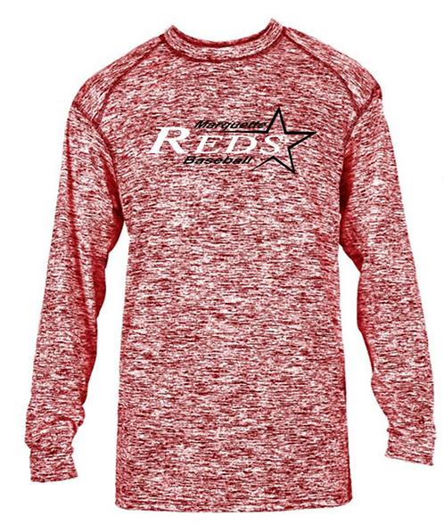 MQT Reds Long Sleeve Wicking Shirt