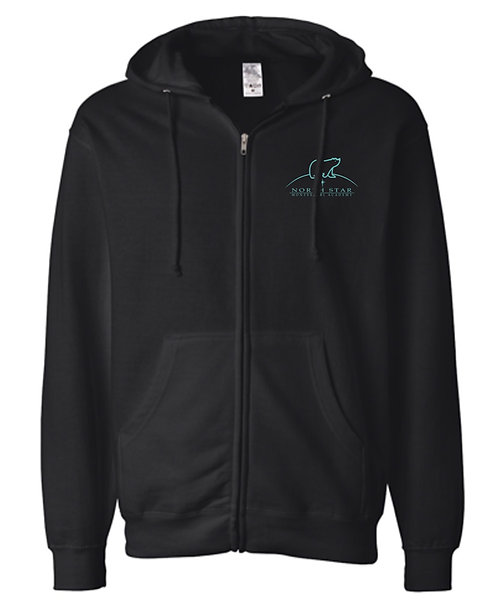 Independent Trading Co. - Midweight Full-Zip Hooded Sweatshirt