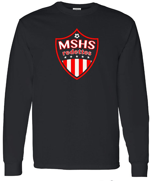 Redettes Soccer Shield Crewneck Sweatshirt