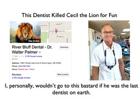 Cecil the Lion and the DUNNING KRUGER Cowards on Twitter