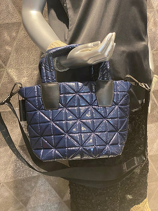 Vee Collective Tote XS midnight blue vinyl