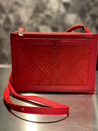 Lili Radu Twin Bag red