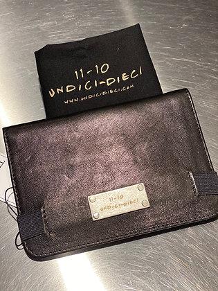 Undici Dieci Travel Wallet nero