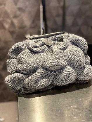 Catarzi Maxi clutch bag grigio