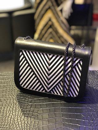 Lili Radu Coachella Bag V black/white