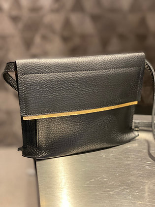 Gretchen Opal Bum Bag piano black gold