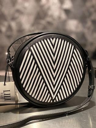 Lili Radu Circle Bag V black/white