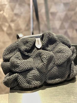 Catarzi Maxi clutch bag schwarz