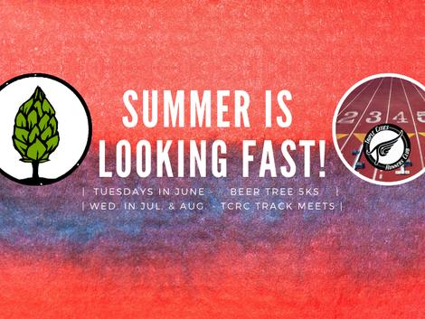 Beer Tree Summer Series and Track Meets Return