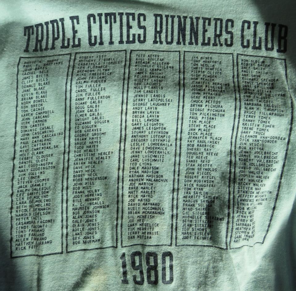 TCRC Shirt 1980