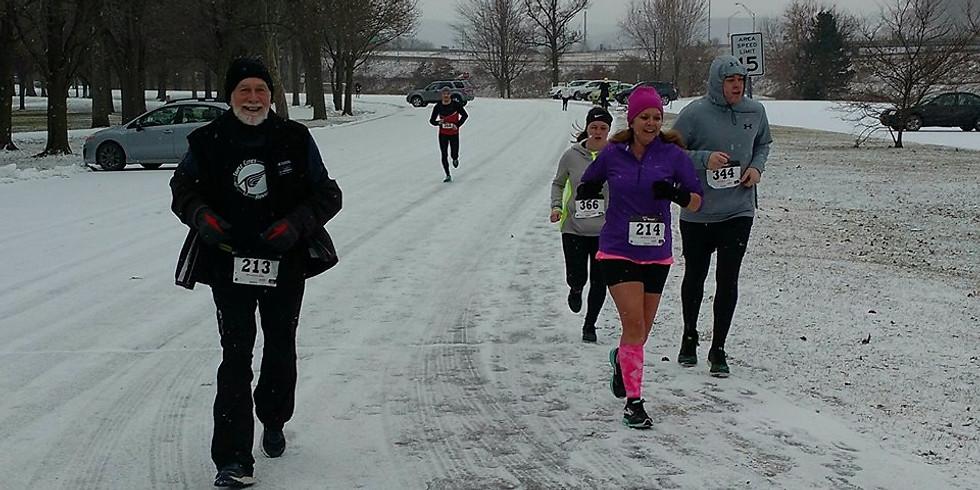 Tom Hamlin January Freeze 10K Series: Race Make Up