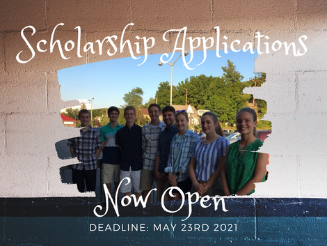 Scholarship Applications Now Open!