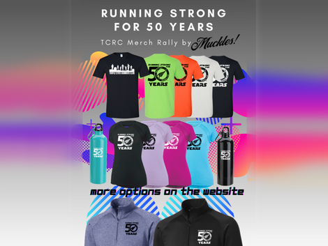 50th Anniversary Merch Available until 5/31