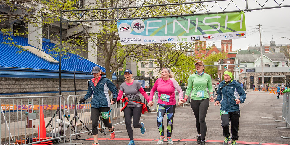 Greater Binghamton Bridge Run Half Marathon & 5K