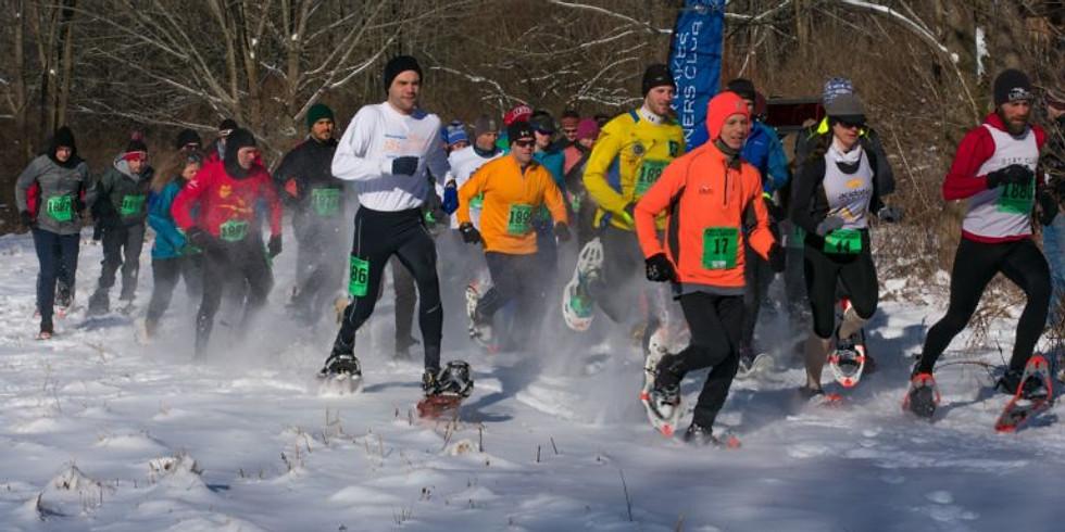 Super Frosty Loomis Snowshoe Race
