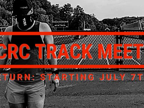 TCRC Track Meets RETURN!