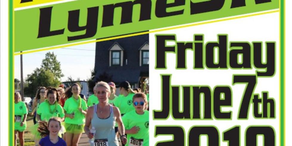 Finish Lyme 5k