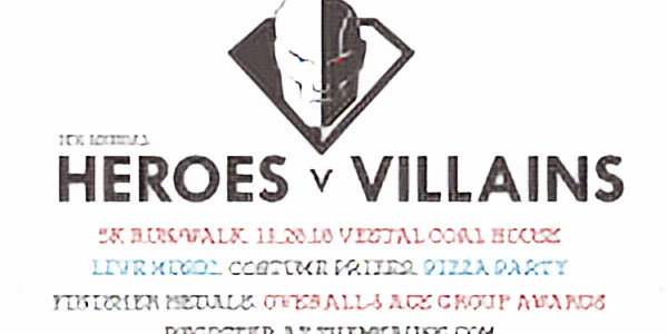 Heroes and Villains 5K
