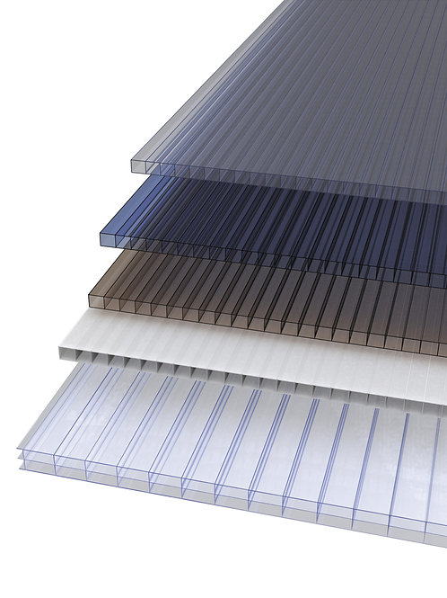 MULTIWALL POLYCARBONATE SHEETS BLUE B\2125\5018AB