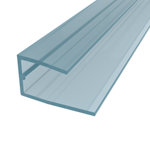 "POLYCARBONATE SHEET ACCESSORY- ""U"" PROFILE B\1158"