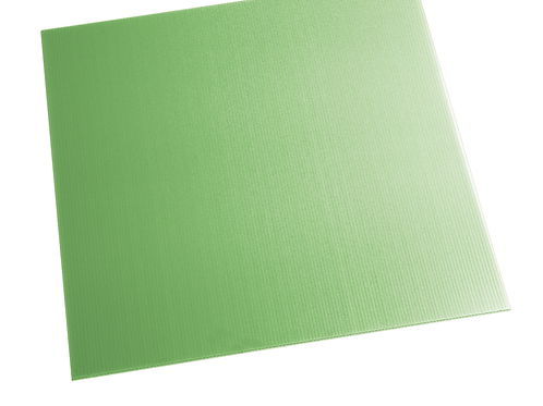 GREEN ALVEOLAR POLYPROPYLENE SHEET  PAV1000X1500