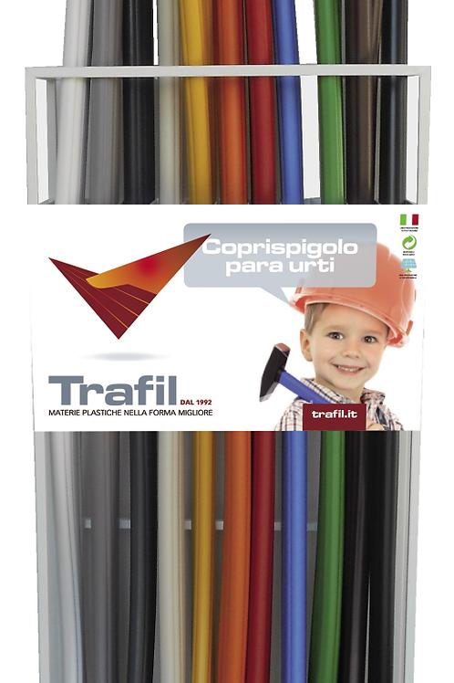 DISPLAY UNIT FOR FLEXIBLE PVC SHOCK RESISTANT CORNER COVER 35x35 mm  ESP14