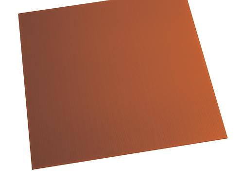 RED ALVEOLAR POLYPROPYLENE SHEET PAR1000X2000