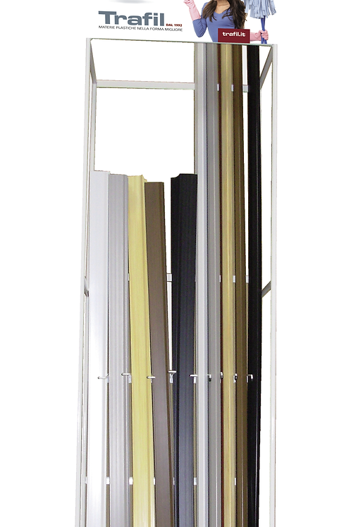 MINI DISPLAY UNIT FOR PVC STANDARD SKIRTING BOARDS AND CORNER COVER