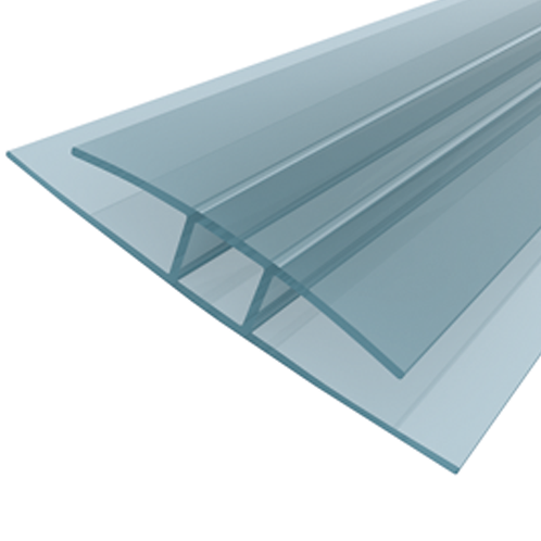 "POLYCARBONATE SHEET ACCESSORY- ""H"" PROFILE B\1164A"