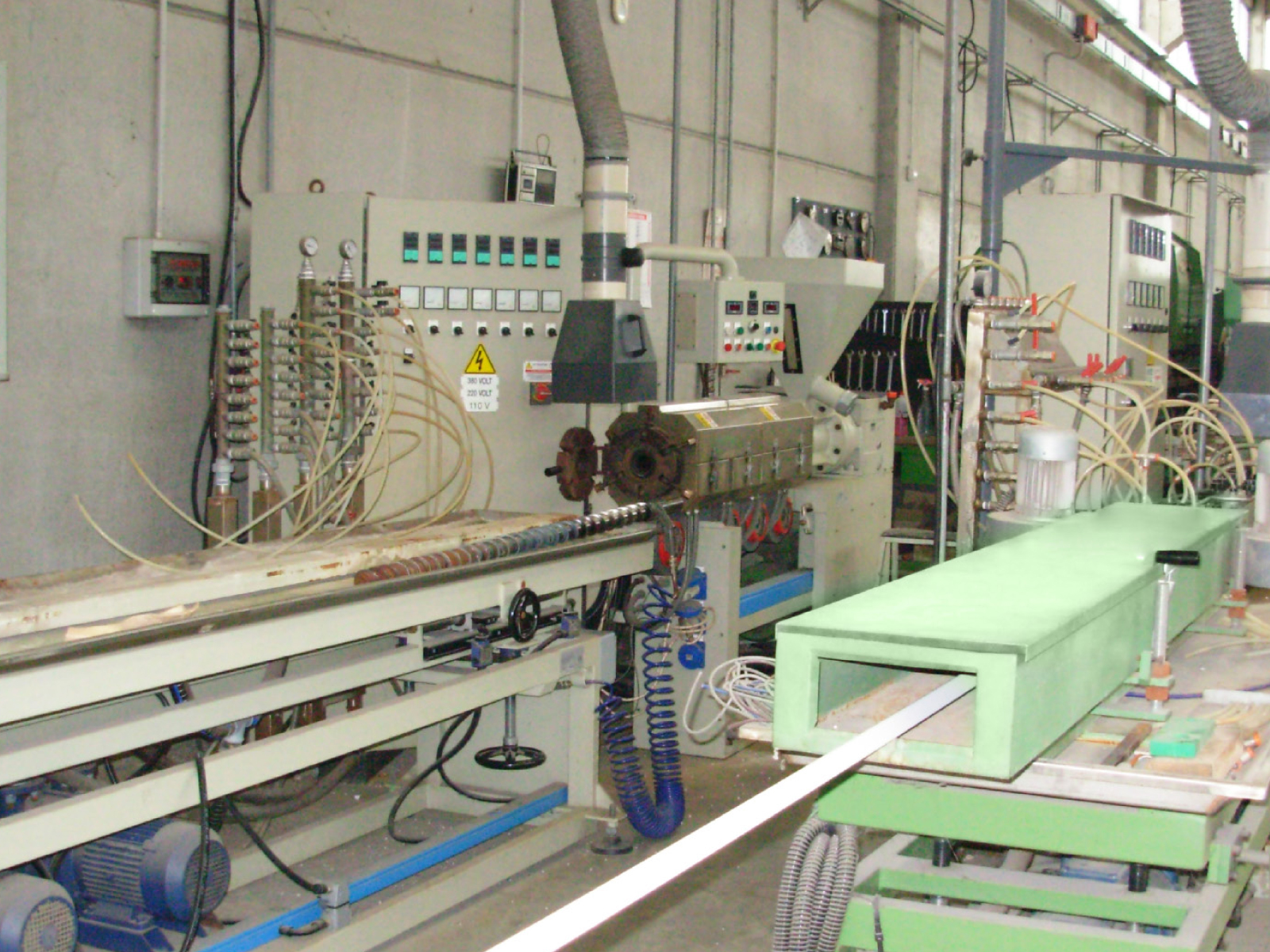 Produzione e macchinari TRAFIL
