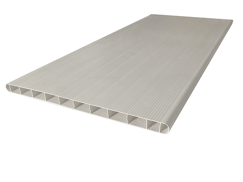 BOX SHAPED PANEL OF SOLID PVC