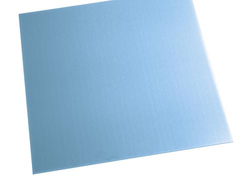 BLUE ALVEOLAR POLYPROPYLENE SHEET PABL500X1500
