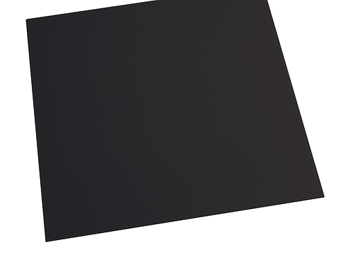 BLACK ALVEOLAR POLYPROPYLENE SHEET PAN500X500