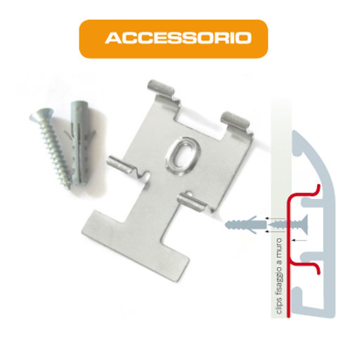 ACCESSORIO MULTISYSTEM - CLIPS DI FISSAGGIO PC
