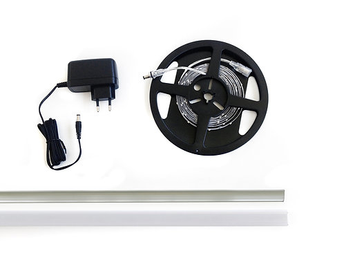 KIT MULTIFUNZIONE ACCESSORIES FOR SKIRTING BOARD WITH LED 2.5 - KL2,5