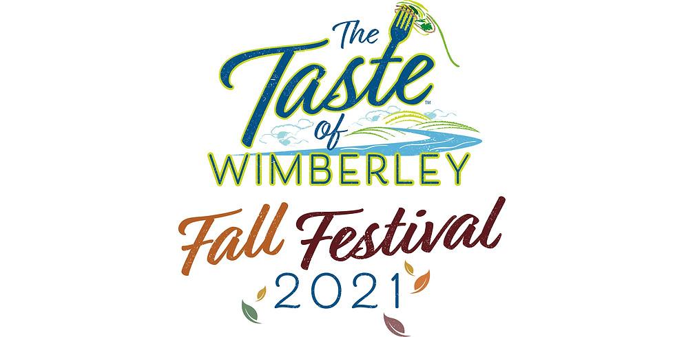 2021 Taste of Wimberley Fall Food + Music Festival