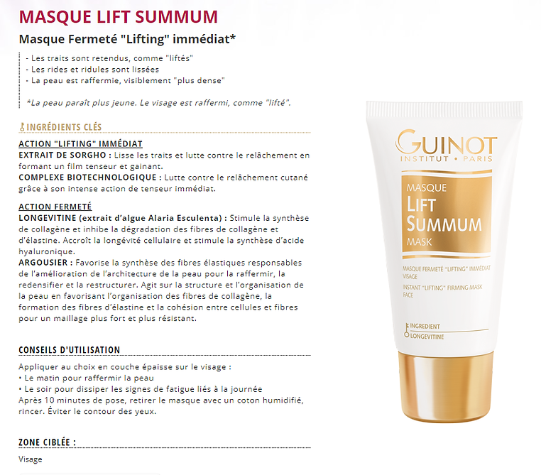 Masque Lift Summum
