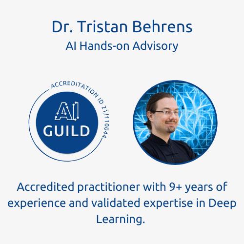 AI Guild accredited leader Tristan Behrens