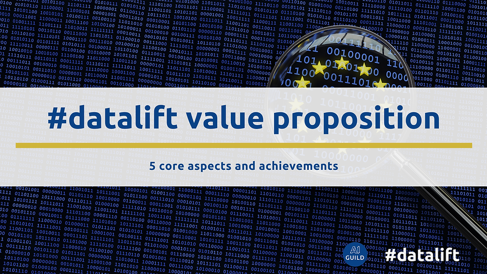 #datalift value proposition: 5 core aspects and achievements