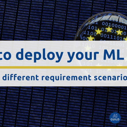 4 ways to deploy your machine learning model